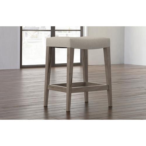 Bassett Furniture - Vail Maple Fabric Saddle Stool