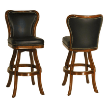 Bar & Counter Armless Swivel Stool - Includes Nailheads