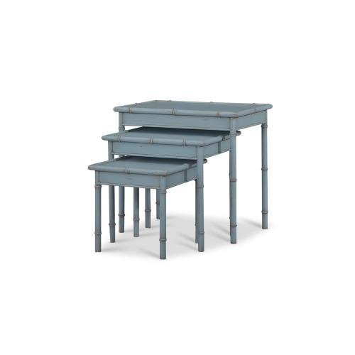 Cane Nesting Tables