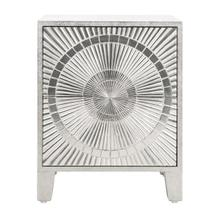 See Details - Remmington Solar Nightstand - Silver