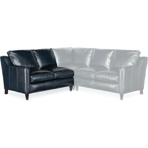 Bradington Young Melville Stationary LAF Loveseat 8-Way Tie 771-57
