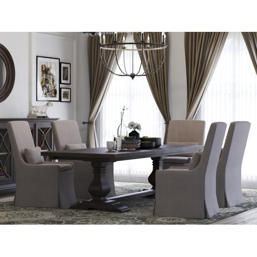 Sierra Modern Slipcovered Dining Chair w/ Camelot Fabric