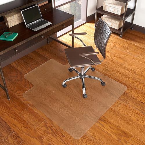 Flash Furniture - 36'' x 48'' Hard Floor Chair Mat with Lip