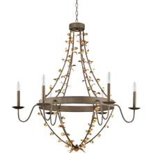 See Details - Mary Frances Chandelier - 6 arm