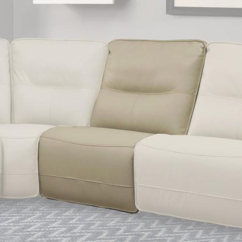 SPARTACUS - OYSTER Manual Armless Recliner
