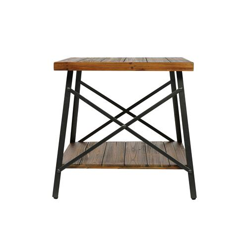 Emerald Home Chandler End Table Pine Brown T100-01-05
