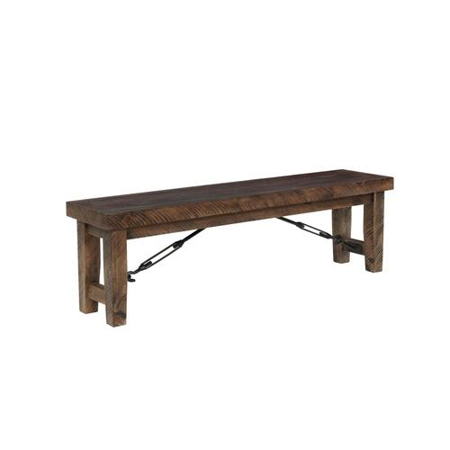 Rustic Lodge Bench
