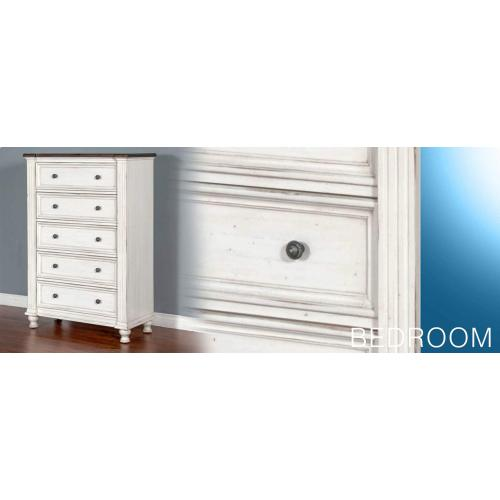 Carriage House 5 Drawer Chest
