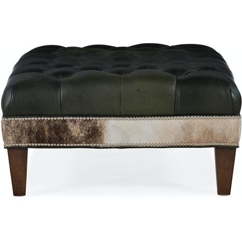 Bradington Young XL Rects Tufted Rectangle Ottoman 807-REC
