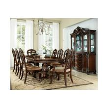 Deryn Park 7 Pc Brown Formal Dinning Set by Homelegance, Model 2243