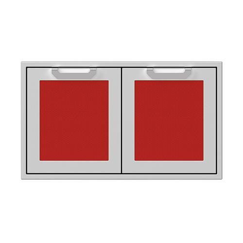 """Hestan - 36"""" Hestan Outdoor Double Storage Doors - AGSD Series - Matador"""