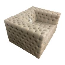 See Details - Two Seater Linen Loveseat