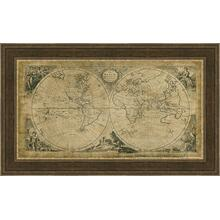 World Discoveries Map - Embellished