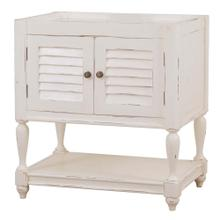 View Product - Cottage Guest Vanity w/o Marble Top & Sink