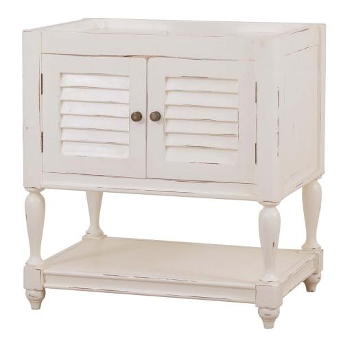 Bramble - Cottage Guest Vanity w/o Marble Top & Sink