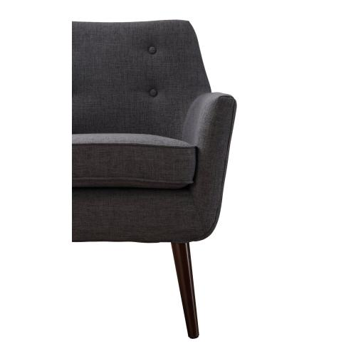 Tov Furniture - Clyde Grey Linen Chair