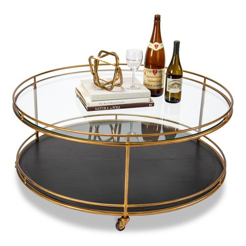 Trolley Round Cocktail Table
