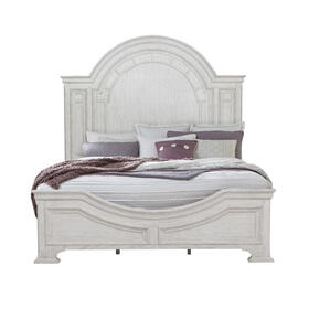 Glendale Estates King / California King Transom Panel Bed Footboard and Slats