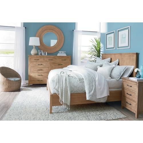 Stamford Queen Panel Bed