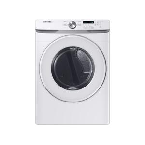 Samsung7.5 cu. ft. Gas Long Vent Dryer with Sensor Dry in White