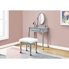 VANITY SET - 2PCS SET / GREY
