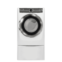 Electrolux EFME627UIW    Front Load Perfect Steam™ Electric Dryer with PredictiveDry™ and Instant Refresh - 8.0. Cu. Ft.