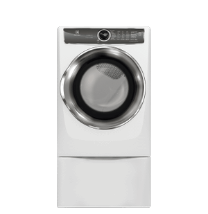 Efme627uiw In White By Electrolux In West Melbourne Fl Front Load Perfect Steam Electric Dryer With Predictivedry And Instant Refresh 8 0 Cu Ft
