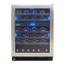 Designer Series 46-Bottle Seamless Wine Cooler