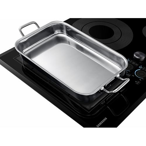 """Samsung - 30"""" Chef Collection Induction Cooktop in Black"""