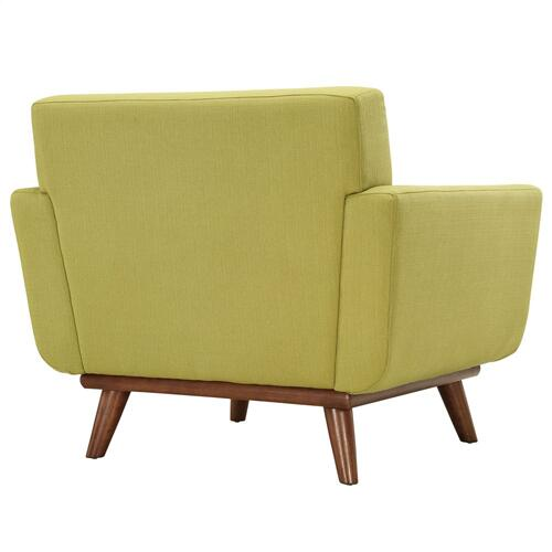 Engage Armchair Wood Set of 2 in Wheatgrass