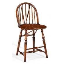 Windsor style counter stool (Side)