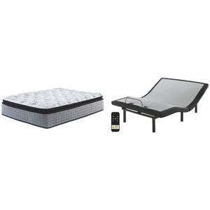 Mt Rogers Ltd Pillowtop Queen Adjustable Base With Mattress