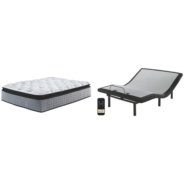 See Details - Mt Rogers Ltd Pillowtop Queen Adjustable Base With Mattress