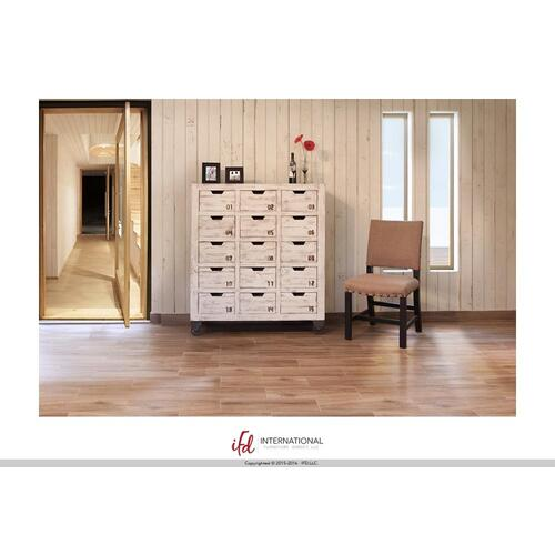 Multi-Drawer Console w/15 numbered drawers