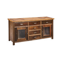 Chateau 2 Door 6 Drawer Sideboard