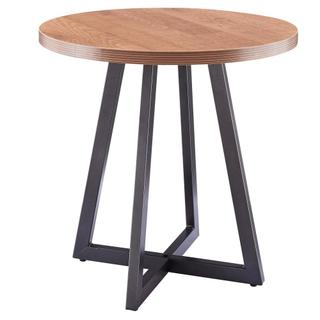 See Details - Courtdale KD Round Side/ End Table, Gliese Brown