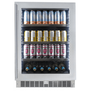 "SilhouetteSaxony 24"" Single-zone Beverage Center"