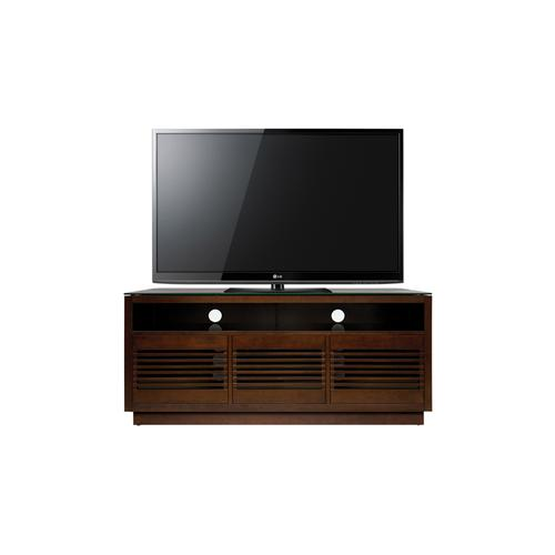 Product Image - No Tools Assembly Chocolate Finish Wood A/V Cabinet