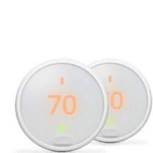 Nest Thermostat E 2 Pack