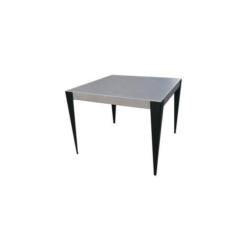 "Genval 38"" Square Dining Table w/Umbrella Hole"