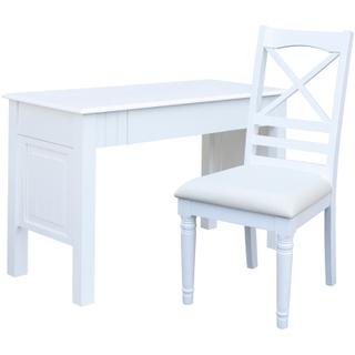Beachfront White Desk