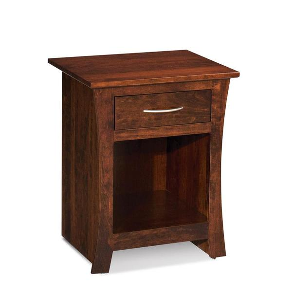 See Details - Garrett Nightstand with Opening on Bottom - Express