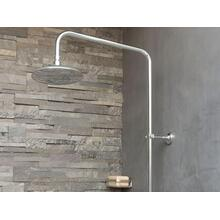 See Details - Rain Showerhead Arm - Nickel Silver