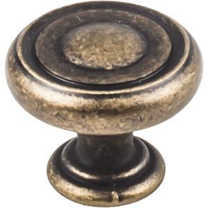 "1-1/4"" Diameter Button Cabinet Knob. Product Image"