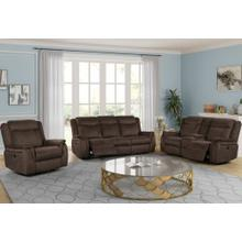 CONSOLE LOVESEAT W/ DUAL RECLINERS