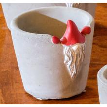 Small Santa Gnome Planter - Set of 1