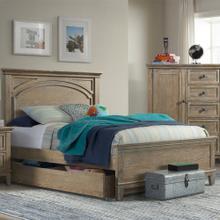 Product Image - Leland Full Bed  Sandwash Sandwash