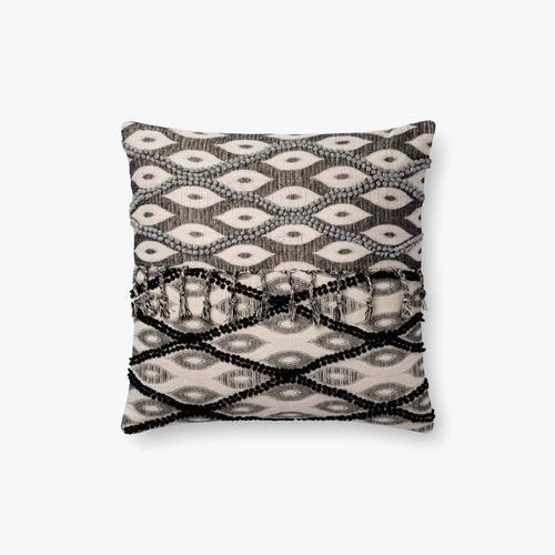 P0698 Black / White Pillow