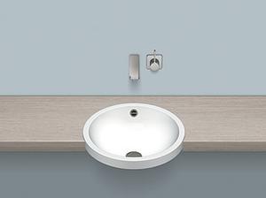 Semi-recessed basin Product Image