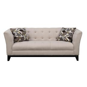Emerald Home Marion Sofa W/2 Accent Pillows Cream U3663m-00-19